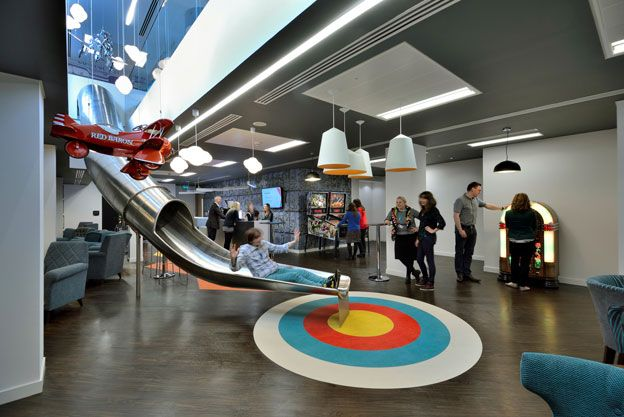 earlier this year us firm ticketmaster opened the doors to its new overseas head office in london the ticket sales company designed the office to apple head office london