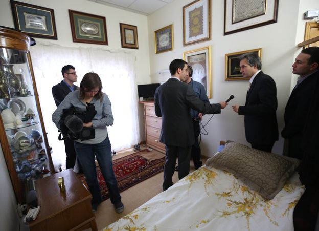 Fethullah Gulen's bedroom