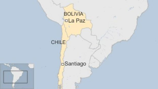 War Chile Bolivia Map of Bolivia And Chile