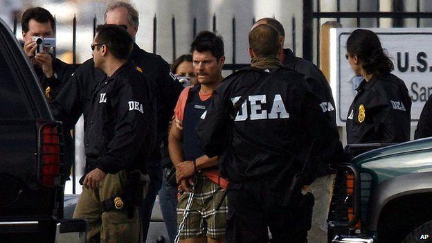 Dea Agent Arrested Dea Agents Escort
