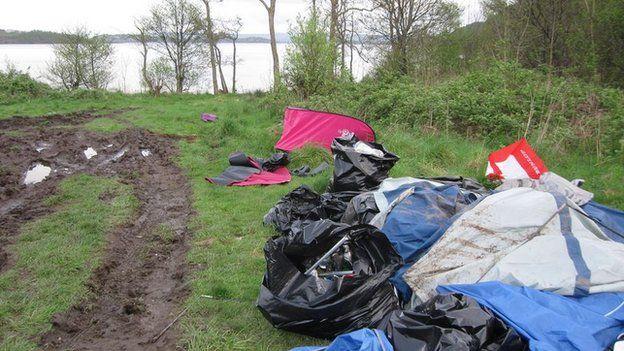 Island Loch Lomond East Loch Lomond Had Made