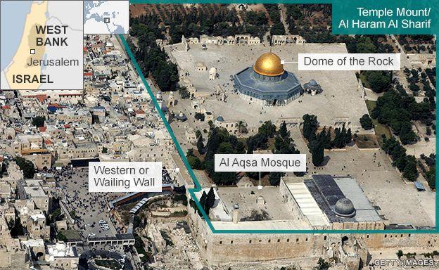 Lezárták a nem muzulmánok elől a jeruzsálemi Templom teret (Mecsetek terét) a ramadán végéig