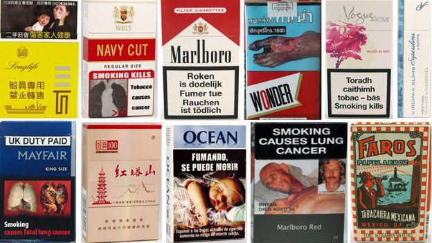 Cigarettes Marlboro flavours