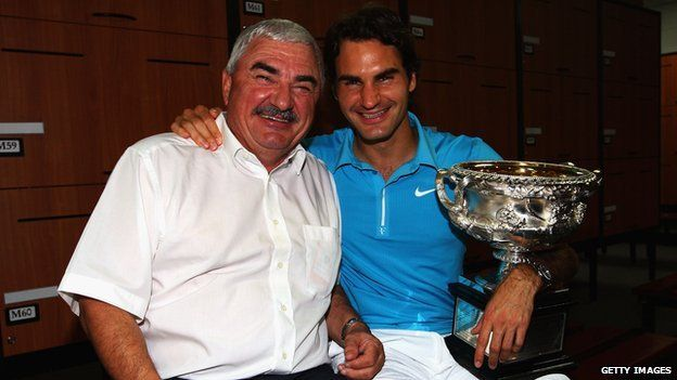 Parents de Roger Federer Roger Federer's Father Robert