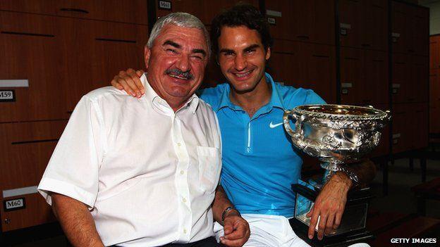 Roger Federer Mother Roger Federer's Father Robert