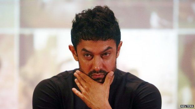 Aamir Khan plays an alien in the film