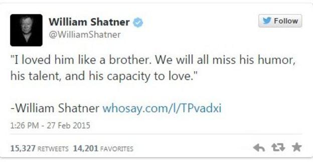 shatner tweet