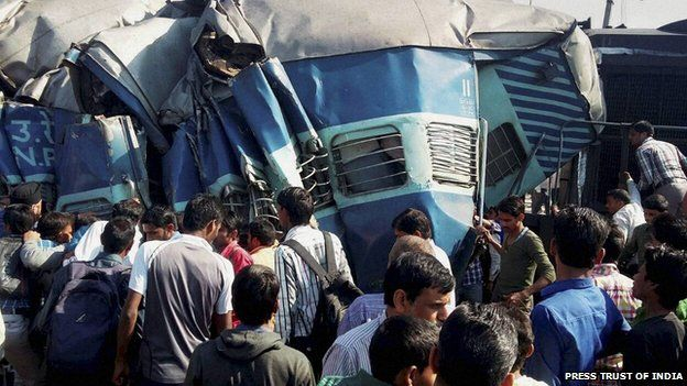 India train crash on 20 March 2015