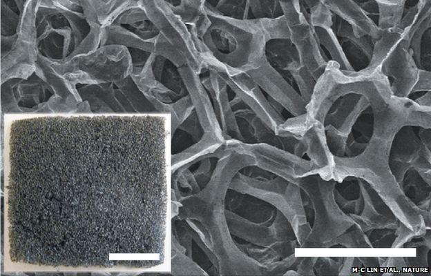graphite foam