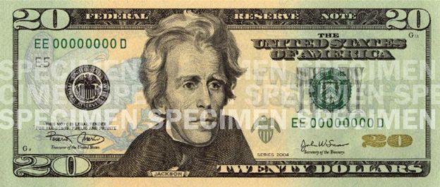 US $20 bill