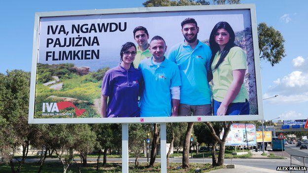 Pro-hunt billboard