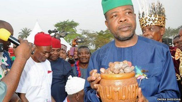 But the south is traditionally loyal to the PDP, so Emeka Ihedioha may beat the incumbent