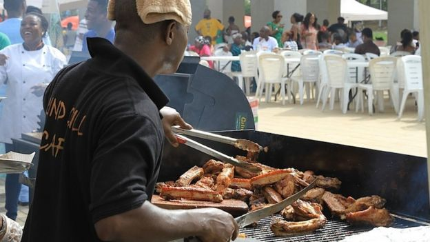 The Lagos grill and BBQ festival, Nigeria - Sunday 5 April 2015