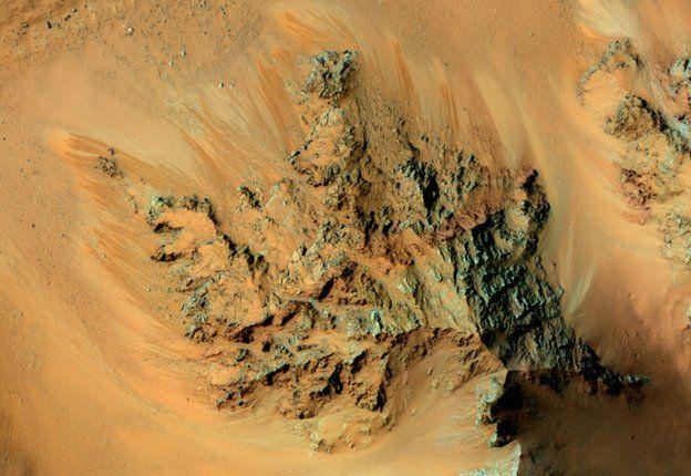 Seasonal flows in Hale Crater