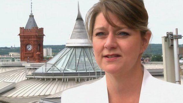 Plaid leader denies party split...