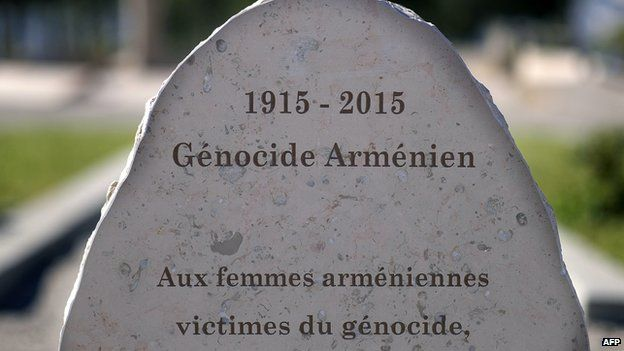 Armenian Genocide memorial dedicated to Armenian women in the southern French city of Marseille.