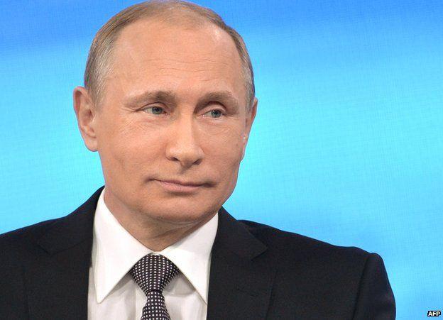 Russian President Vladimir Putin at phone-in, 16 Apr 15