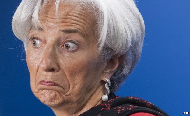 Christine Lagarde (16 April)