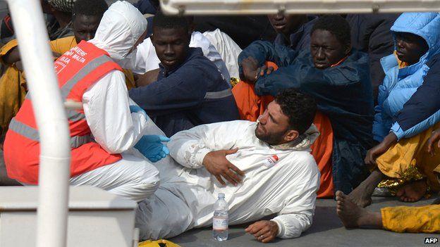 Migrants rescued off Malta