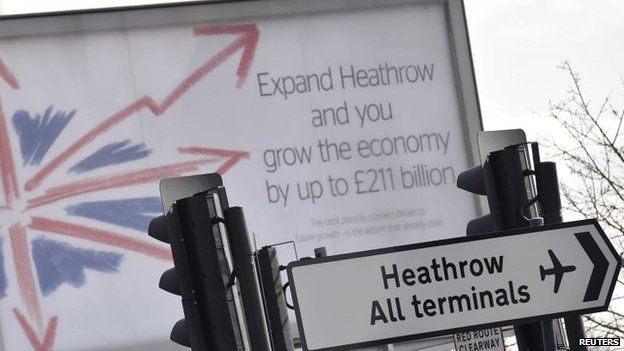Heathrow expansion poster