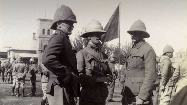Boer War soldiers, circa 1900