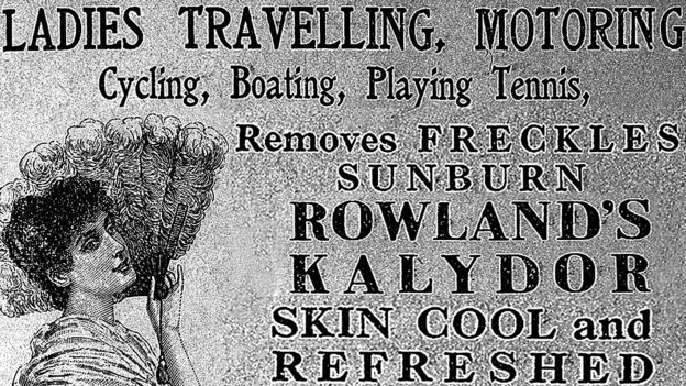 Advertisement for Rowland's Kalydor, circa 1915