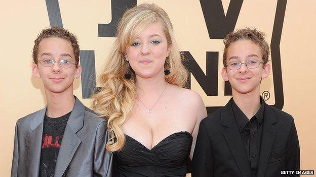 Sawyer, Madylin and Sullivan Sweeten pictured in 2010