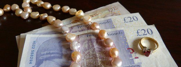 money and jewellery