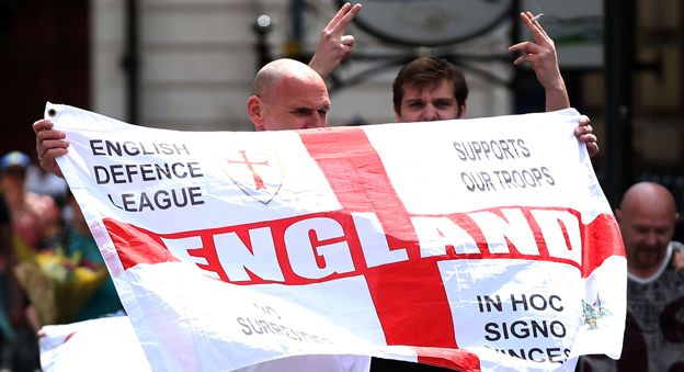 EDL demonstrators