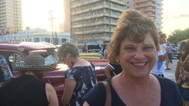 Mayra Crespo in Havana