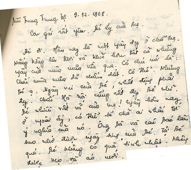 Extract from Quy's diary in Vietnamese