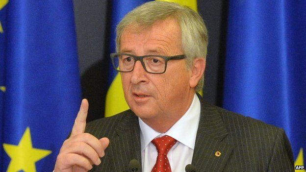 EU Commission President Jean-Claude Juncker