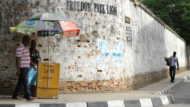 Wall of Freedom Park Lagos, Nigeria