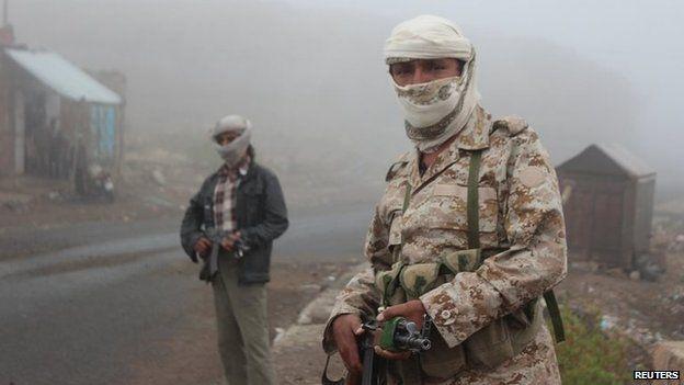 82800440 91911dba b994 486d aa00 020876682ecf - Yemen conflict: Air strikes follow cross-border attack