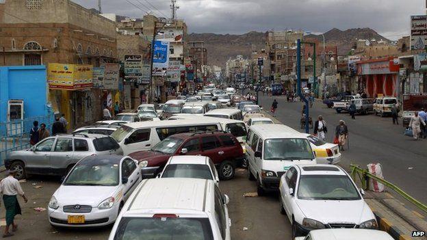 82800444 96b42647 5652 43af 82f8 5a9b1e95b65e - Yemen conflict: Air strikes follow cross-border attack