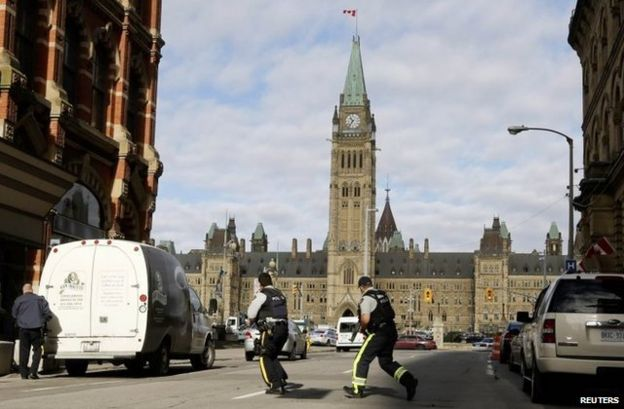 Canadian lawmakers vowed to strengthen security laws after last year's attack on parliament