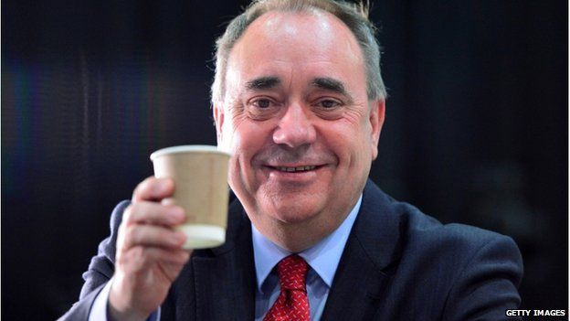 Alex Salmond will be returning to Westminster after winning in Gordon