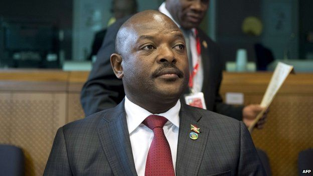 Pierre Nkurunziza, file pic
