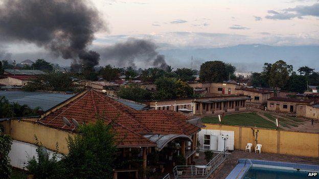 Bujumbura on 14 May 2015