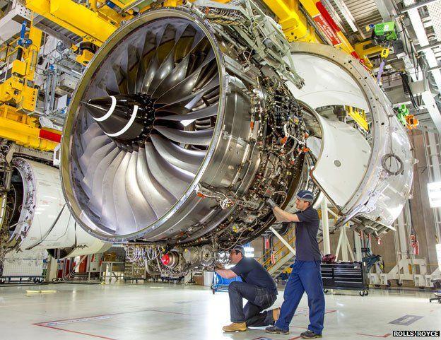 Rolls-Royce Trent XWB-97 engine