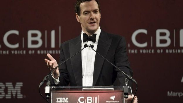 george osborne at CBI