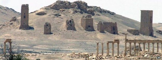 File photo: A general view of Palmyra