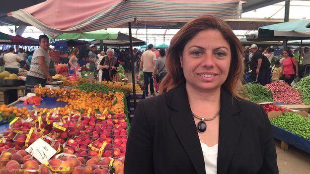 CHP candidate Zeynep Altiok