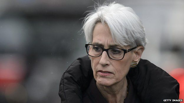 US Under Secretary of State for Political Affairs Wendy Sherman