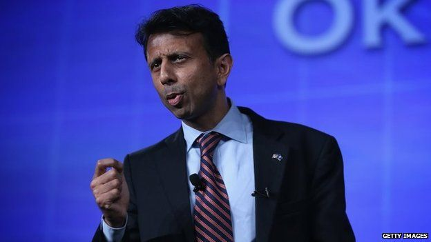 Louisiana Governor Bobby Jindal speaks during the 2015 Southern Republican Leadership Conference May 22, 2015 in Oklahoma City, Oklahoma
