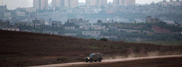 Israeli border with the Gaza Strip