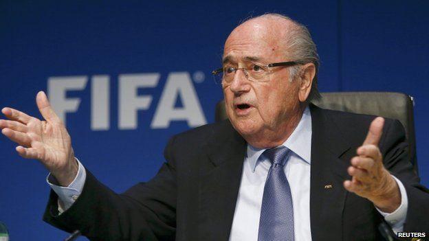 Sepp Blatter, file pic