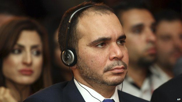 Prince Ali bin al-Hussein of Jordan, 4 May