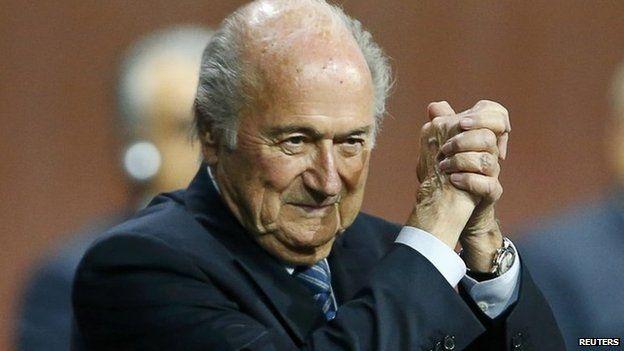 Sepp Blatter, 29 May