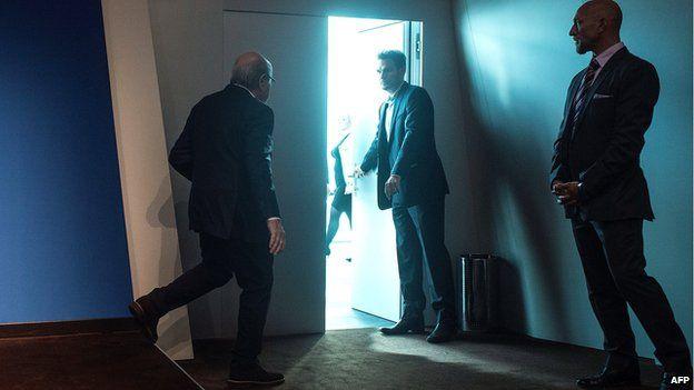 Sepp Blatter is shown the door 02 June 2015